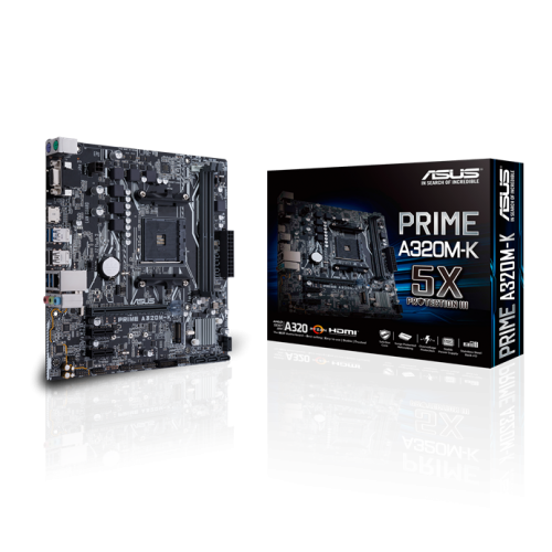 ASUSTEK PRIME A320M-K MAINBOARD (AM4 SOCKET)
